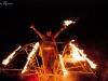 Pyroselle tijdens de Winteravonden 2012 in Domein Bokrijk. Foto: Luana Mooibroek